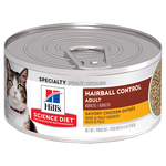 Hills Science Diet Hills Science Diet Adult Hairball Control Savory Chicken Entree Canned Cat Food