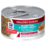 Hills Science Diet Hills Science Diet Adult Healthy Cuisine Tuna And Carrot Medley Canned Cat Food