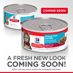 Hills Science Diet Hills Science Diet Adult Ocean Fish Entr E Canned Cat Food