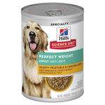Hills Science Diet Hills Science Diet Adult Perfect Weight Chicken And Vegetables Canned Dog Food
