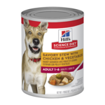 Hills Science Diet Hills Science Diet Adult Savory Stew Chicken And Vegetables Canned Dog Food
