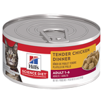 Hills Science Diet Hills Science Diet Adult Tender Chicken Dinner Canned Cat Food
