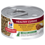 Hills Science Diet Hills Science Diet Kitten Healthy Cuisine Chicken And Rice Medley Canned Cat Food