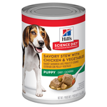 Hills Science Diet Hills Science Diet Puppy Savory Stew Chicken And Vegetable Canned Dog Food
