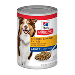 Hills Science Diet Hills Science Diet Senior 7 Plus Chicken And Barley Entree Canned Dog Food
