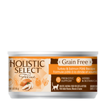 Holistic Select Holistic Cat Grain Free Turkey Salmon 24 x 156g