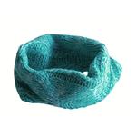 Huskimo Huskimo Dog Snood Chunky Knit Turquoise Melange