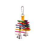 Kazoo Kazoo Bird Toy With Arch Chips And Bells