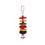 Kazoo Kazoo Bird Toy With Round Chips And Bell