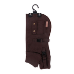 Kazoo Kazoo Oilskin Coat Brown