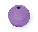 Kazoo Kazoo Rubber Treat Ball Purple