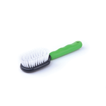 Kazoo Kazoo Small Animal Bristle Brush Green Grey