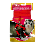 Living World Living World Ferret Harness Lead Set Red