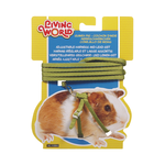 Living World Living World Guinea Pig Harness Lead Set Green