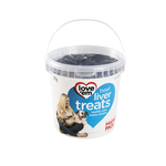 love em Love Em Liver Treats Beef Resealable Tub