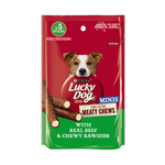 Lucky Dog Lucky Dog Treats Meaty Chew Mini Beef