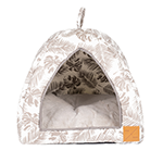 Mog and Bone Mog And Bone Igloo Mocca Tropical Leaves Print
