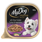 My Dog My Dog Home Recipe Slow Cooked Turkey Vegetables 12 x 100g