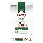 Nutro Nutro Limited Ingredient Diet Dry Dog Food Lamb And Rice 2.6kg
