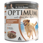 Optimum Optimum Adult Kangaroo And Vegetables Wet Dog Food