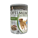 Optimum Optimum Adult Lamb Rice Dog Food 24 x 400g
