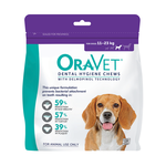 Oravet Oravet Dental Hygiene Chews Medium