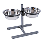 Petface Petface Bowl Double Diner Adjustable