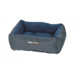 Petlife Petlife Self Warm Cuddle Bed Blue Charcoal