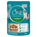 Purina One Purina One Adult Hairball Chicken Wet Cat Food