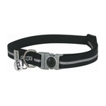 Rogz Rogz Alleycat Collar Black