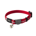 Rogz Rogz Alleycat Collar Red