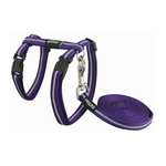 Rogz Rogz Alleycat Harness Lead Purple