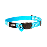 Rogz Rogz Fancycat Collar Safeloc Bubble Fish