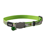 Rogz Rogz Reflectocat Collar Lime Fish