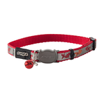 Rogz Rogz Reflectocat Collar Red Fish