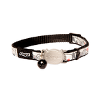 Rogz Rogz Reflectocat Collar Safeloc Black