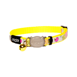 Rogz Rogz Reflectocat Collar Safeloc Yellow