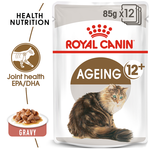 Royal Canin Royal Canin Ageing 12 Plus Gravy Senior Wet Cat Food Pouches