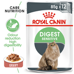 Royal Canin Royal Canin Digest Sensitive Gravy Wet Cat Food Pouches