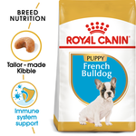 Royal Canin Royal Canin French Bulldog Junior Dry Dog Food 3kg