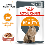 Royal Canin Royal Canin Intense Beauty Gravy Wet Cat Food Pouches