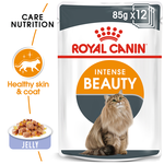 Royal Canin Royal Canin Intense Beauty Jelly Wet Cat Food Pouches