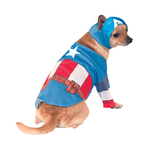 Rubies Deerfield Rubies Deerfield Dog Costume Marvel Captain America