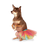 Rubies Deerfield Rubies Deerfield Dog Costume Tutu Dress Rainbow