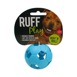 Ruff Play Ruff Play Durable Soccer Ball Blue