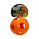 Ruff Play Ruff Play Durable Soccer Ball Orange