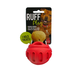 Ruff Play Ruff Play Durable Treat Ball Red