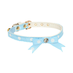 Rufus and Coco Rufus And Coco Cat Collar Ribbon Blue