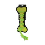 Scream Scream Cross Ropes Tug Bone Green