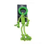 Scream Scream Rope Man With Tpr Head Green